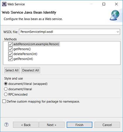 Web-сервис SOAP в Eclipse